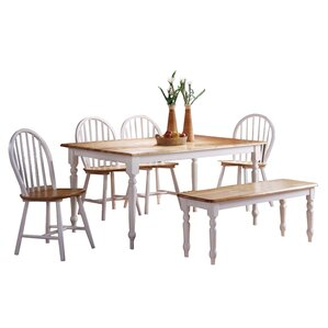 Berene 6 Piece Dining Set by August Grove