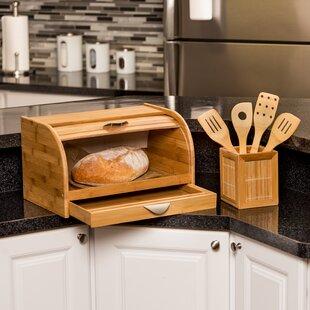 Farmhouse Bread Box Wayfair