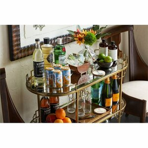 Havana Crossing La Cuna Bar Cart by Stanl..