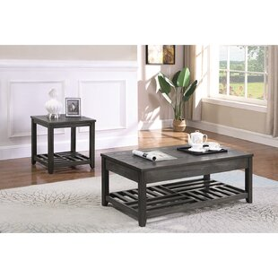 Stites 2 Piece Coffee Table Set