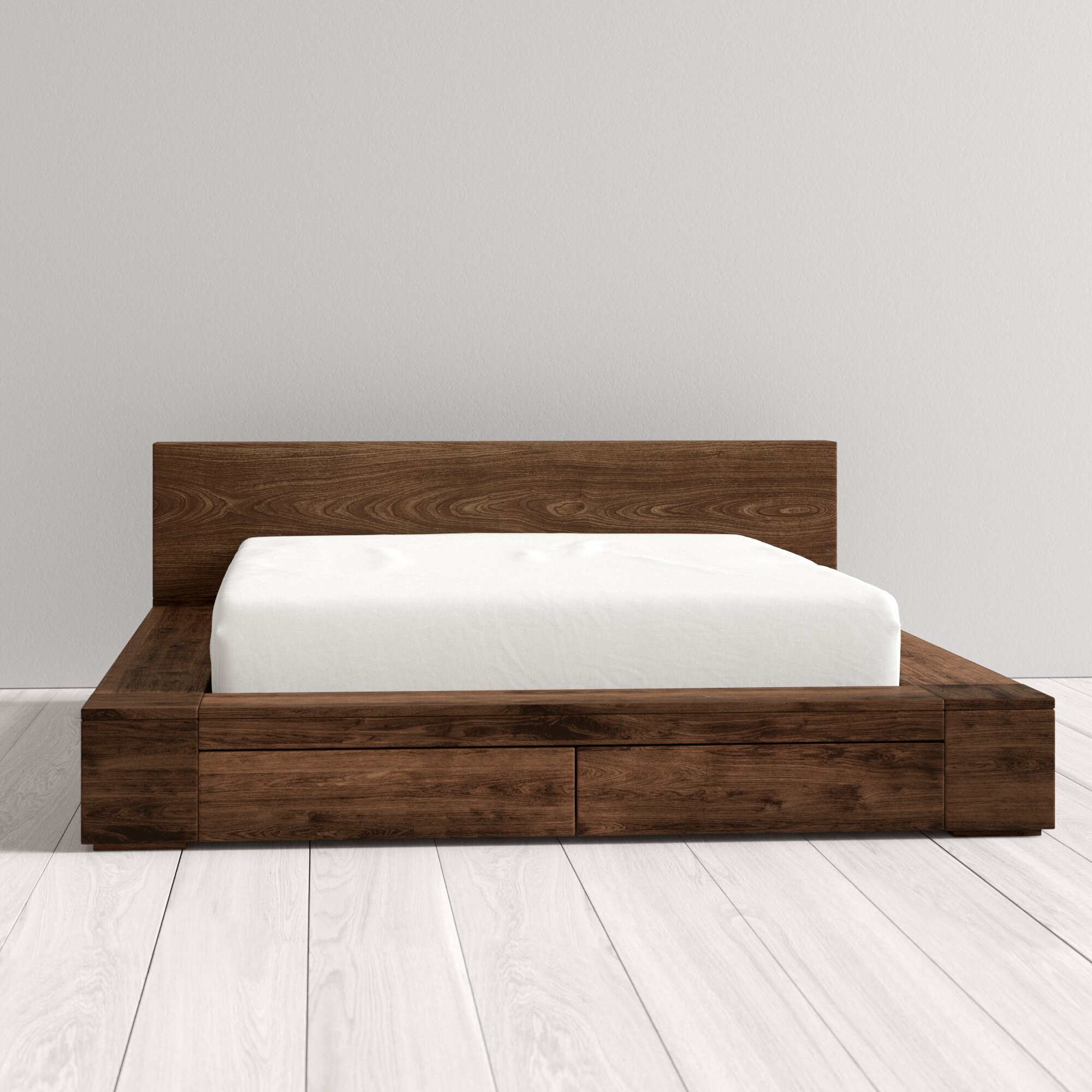 Loon Peak Elliston Storage Platform Bed Reviews Wayfair Ca