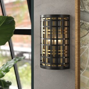 Durrell 2-Light Flush Mount by Brayden Studio