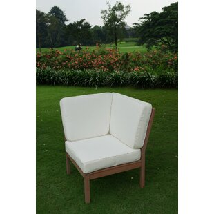 Hermitage Corner Patio Chair with Cushions
