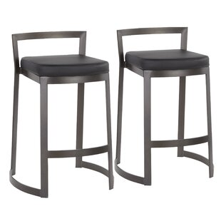 Gary 28 Bar Stool (Set of 2) Wade Logan