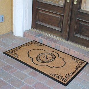 Abbot Bridge Monogrammed Doormat & Door Mats You\u0027ll Love | Wayfair