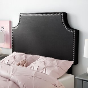Order Ebony Twin Upholstered Panel Headboard by Andover Mills