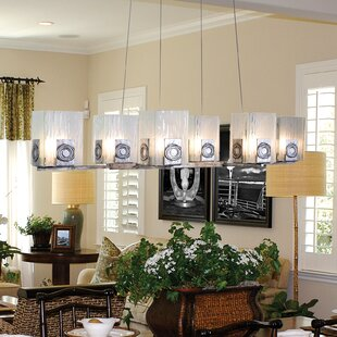 Varaluz Polar 6-Light Kitchen Island Pendant