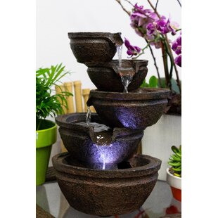 outdoor fountains with lights cool outdoor wall resin fountain with light lighted outdoor fountains youll love wayfair