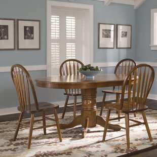 Acadian Oval 5 Piece Dining Set by Alcott Hill