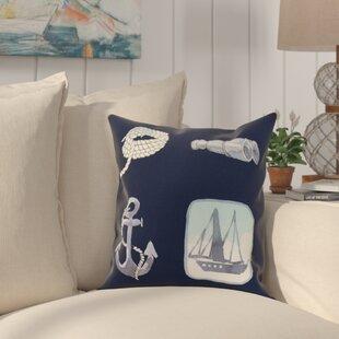 Harriet Sea Tools Throw Pillow