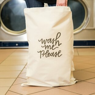 Check Prices 'Wash Me Please' Laundry Bag By Love You A Latte Shop