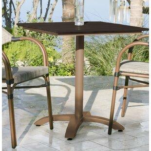 Arianna Aluminum Bistro Table