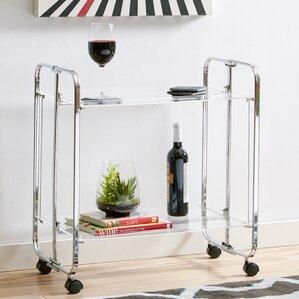 Ema Bar Cart by Latitude Run