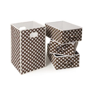 Folding Laundry Hamper and Basket Set By Badger Basket