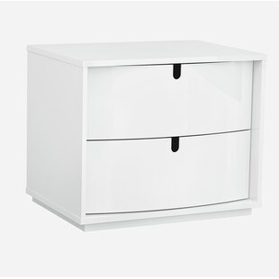 Hugo 2 Drawer Nightstand