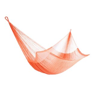 Brighouse Melon Delight Nylon Rope Camping Hammock by Bloomsbury Market