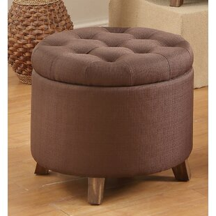 Save & Chocolate Brown Ottoman | Wayfair