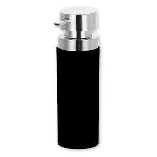 Reviews Stainless Steel Round Soap Dispenser ByHome Basics