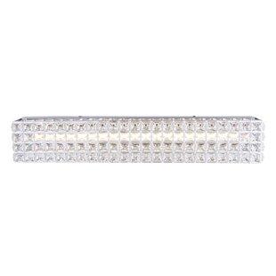 Rosdorf Park Aedesia 1-Light LED Bath Bar