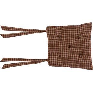 Plaid Dining Chair Cushion