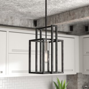 Jefferson 1-Light Geometric Pendant