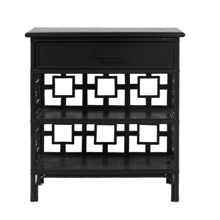 David Francis Furniture Sobe End Table with Storage