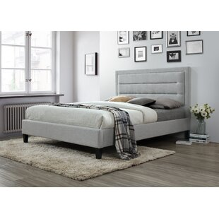 Price comparison Garway Upholstered Platform Bed by Ivy Bronx Reviews (2019) & Buyer's Guide