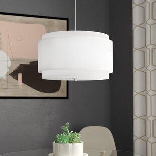 Ebern Designs Strickland 3 Light Pendant