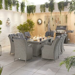 Radegunda 8 Seater Dining Set With Cushions By Sol 72 Outdoor