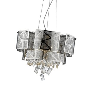 Giancola Laser Cut 6-Light LED Novelty Chandelier by Everly Quinn