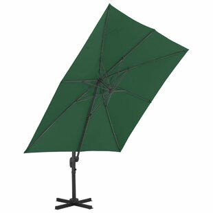 3m X 4m Rectangular Cantilever Parasol By Freeport Park
