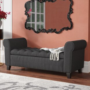 Claxton Upholstered Storage Bench by House of Hampton