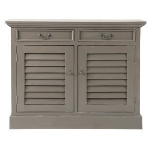 Shailene Shutter 2 Door Accent Cabinet by World Menagerie