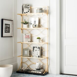 Evalyn Etagere Bookcase by Everly Quinn
