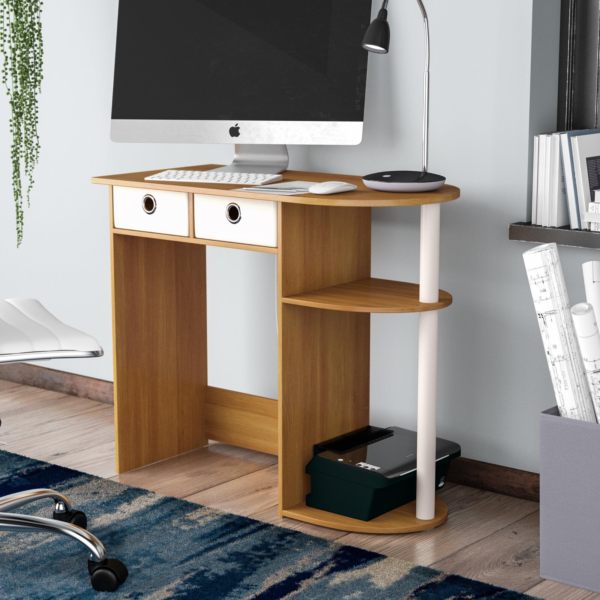 Ebern Designs Lapham Desk Reviews Wayfair