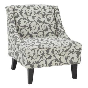 Eleanora Slipper Chair by Alcott Hill