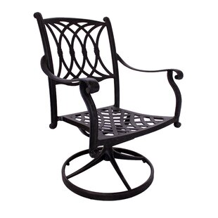 Islais Swivel Patio Dining Chair