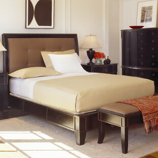 Compare prices Metropolitan Upholstered Platform Bed by Brownstone Furniture Reviews (2019) & Buyer's Guide