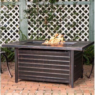 Sawyer Aluminum Propane Fire Pit Table
