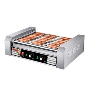 9 Hot Dog Grilling Machine