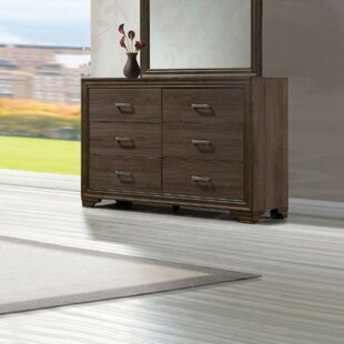 Springboro 6 Drawer Double Dresser