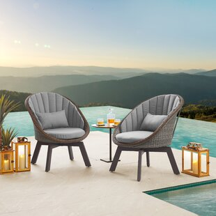 Price For Cremont Sonoma Teak Patio Chair With Cushions By Corrigan Studio