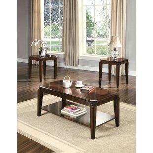 Canora Grey Karon 3 Piece Coffee Table Set