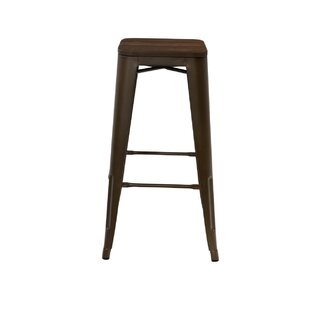 Moore 76cm Bar Stool By Brambly Cottage