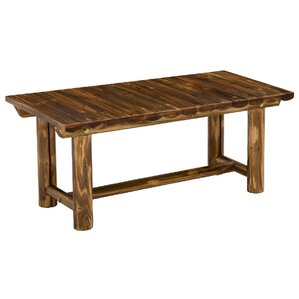 Jack Post Toasted Log Coffee Table