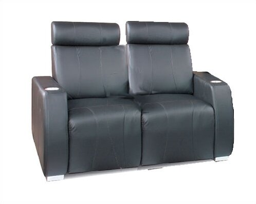 leather com theater dp power storage recline center home with amazon console loveseat black seatcraft republic