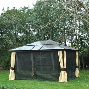 Showstead 4m X 3.5m Metal Party Tent By Sol 72 Outdoor