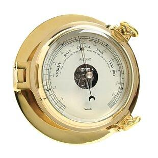 Brass Saloon Barometer By EUNauticalia
