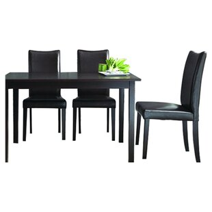 Iain 5 Piece Dining Set Charlton Home