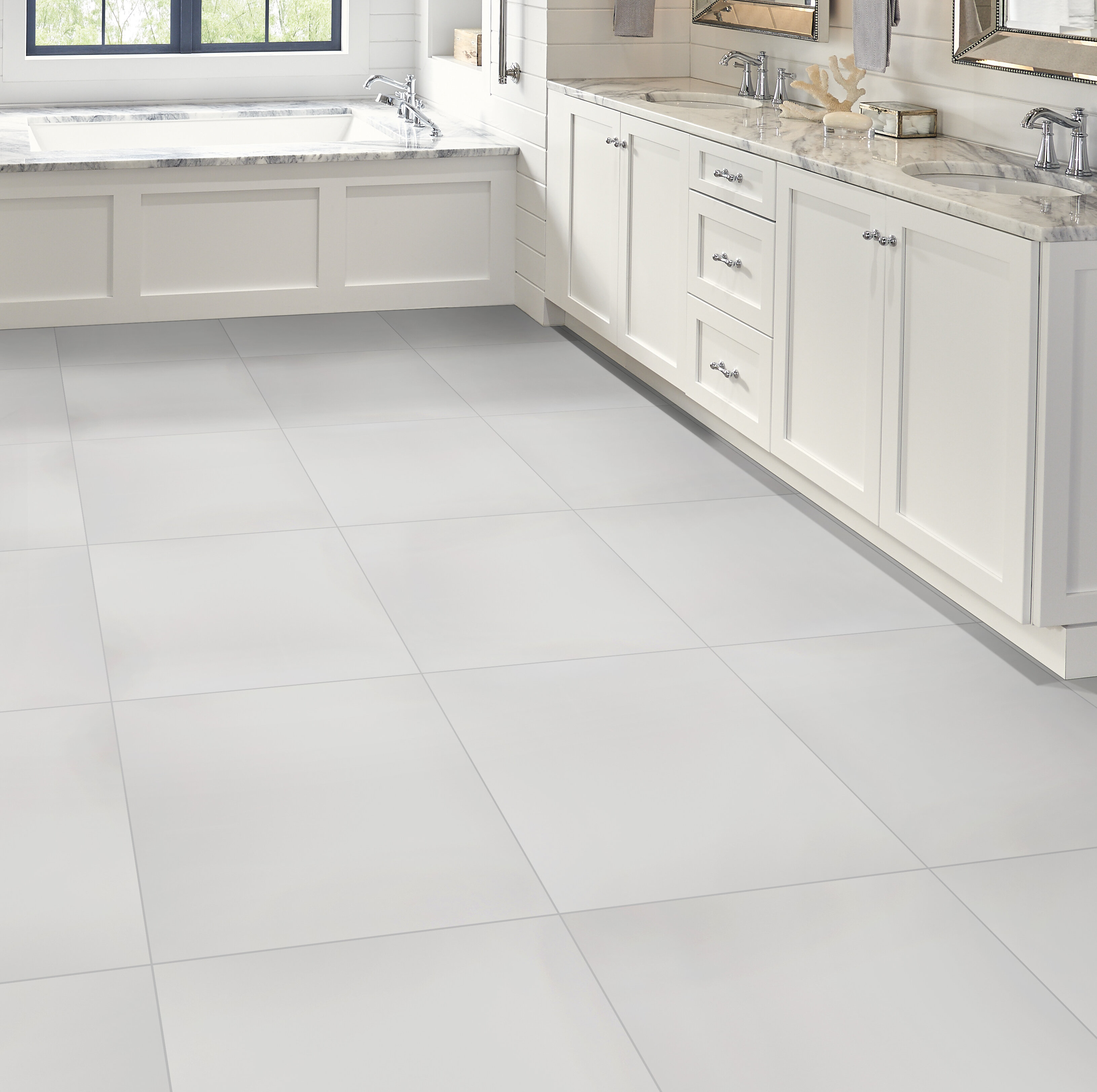 Msi 24 X 24 Porcelain Wall Floor Tile Wayfair